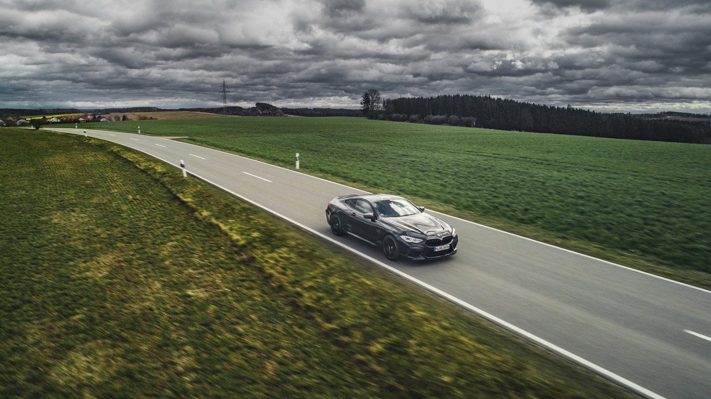 BMW M8 Competition Test Drive 11