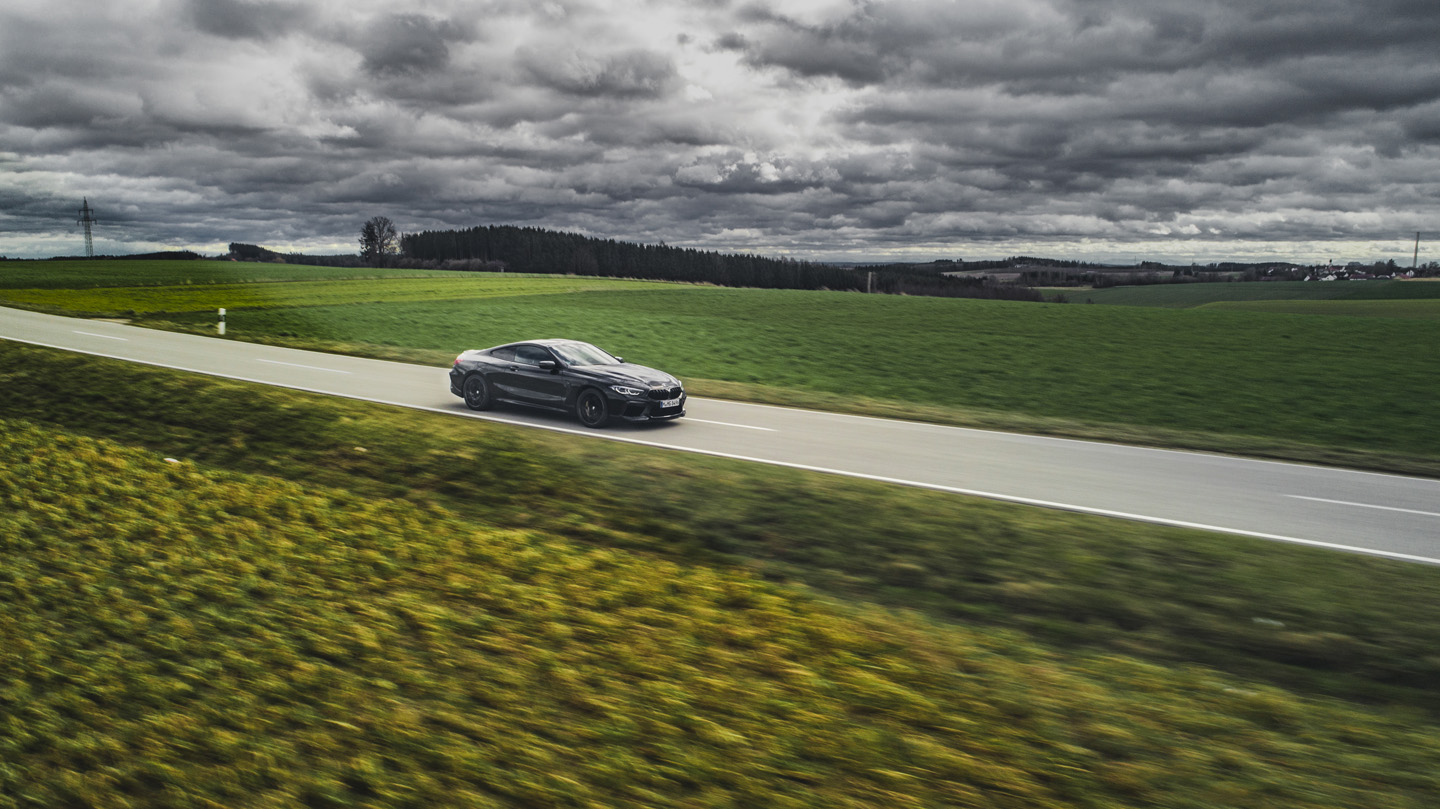 BMW M8 Competition Test Drive 14