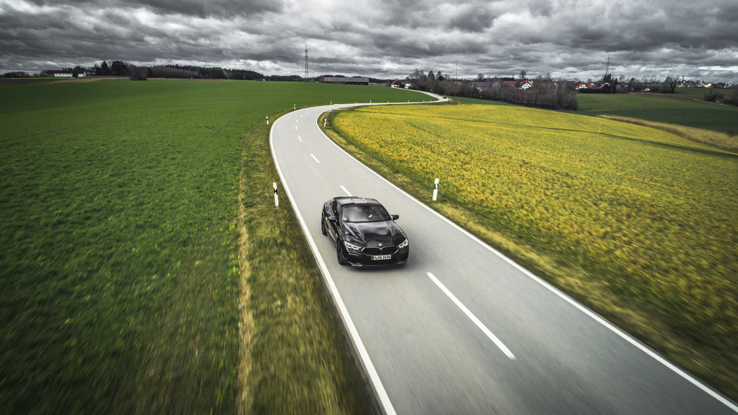 BMW M8 Competition Test Drive 16