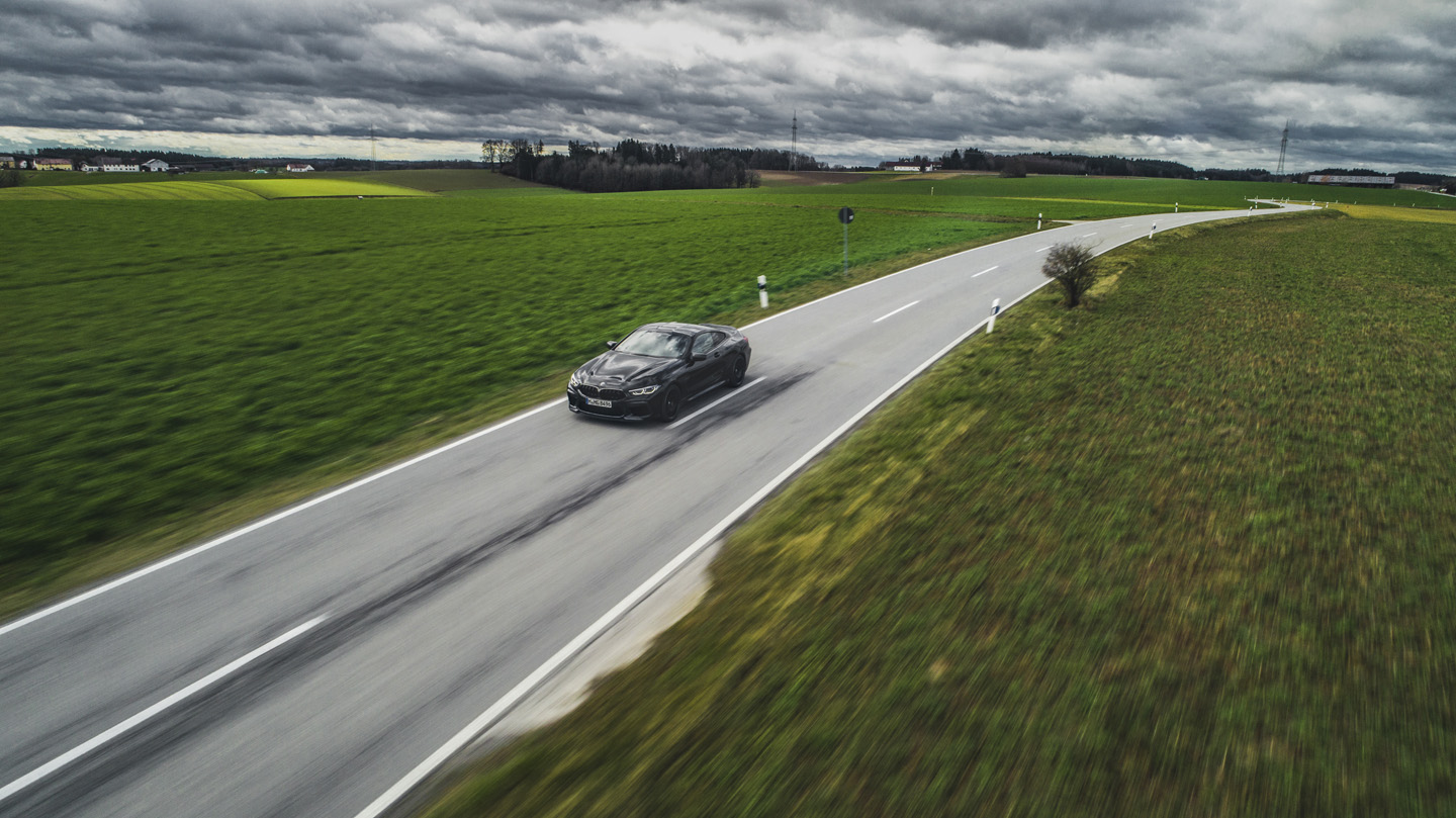 BMW M8 Competition Test Drive 17