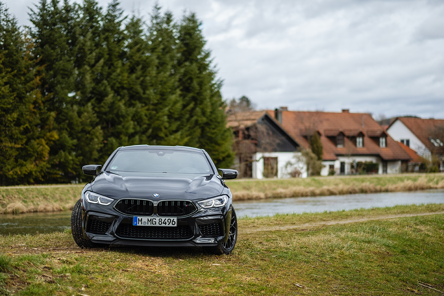 BMW M8 Competition Test Drive 19