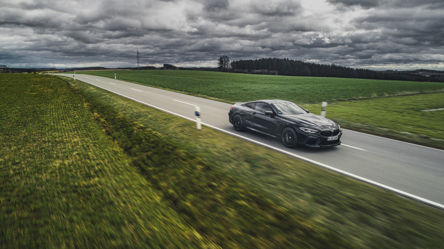 BMW M8 Competition Test Drive 2