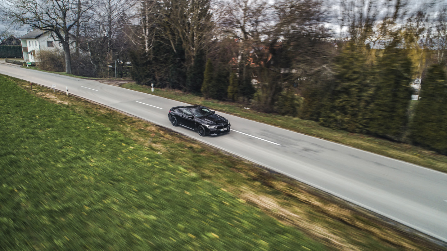 BMW M8 Competition Test Drive 4