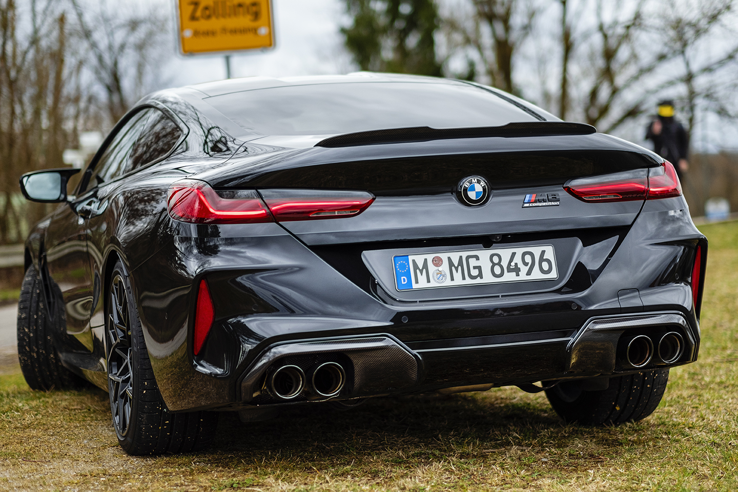 BMW M8 Competition Test Drive 44