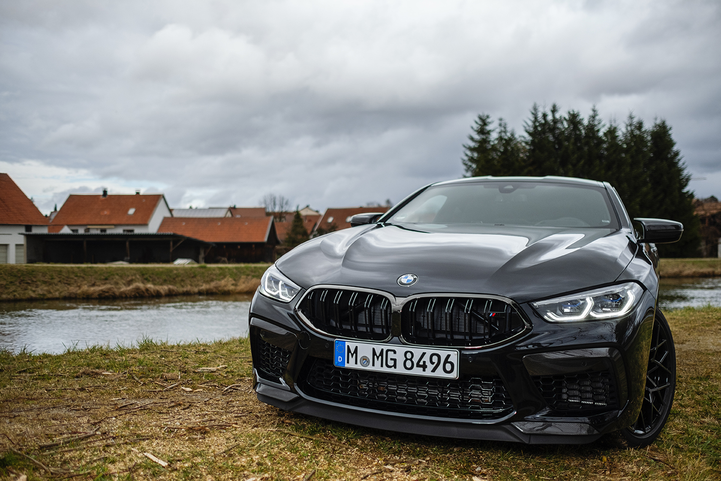BMW M8 Competition Test Drive 47