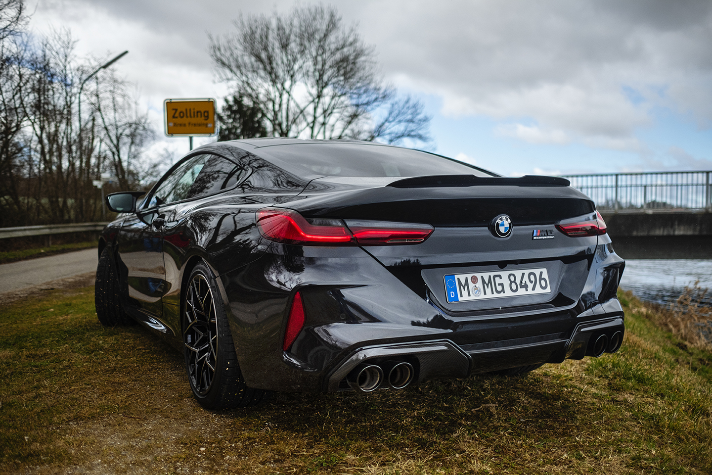BMW M8 Competition Test Drive 55