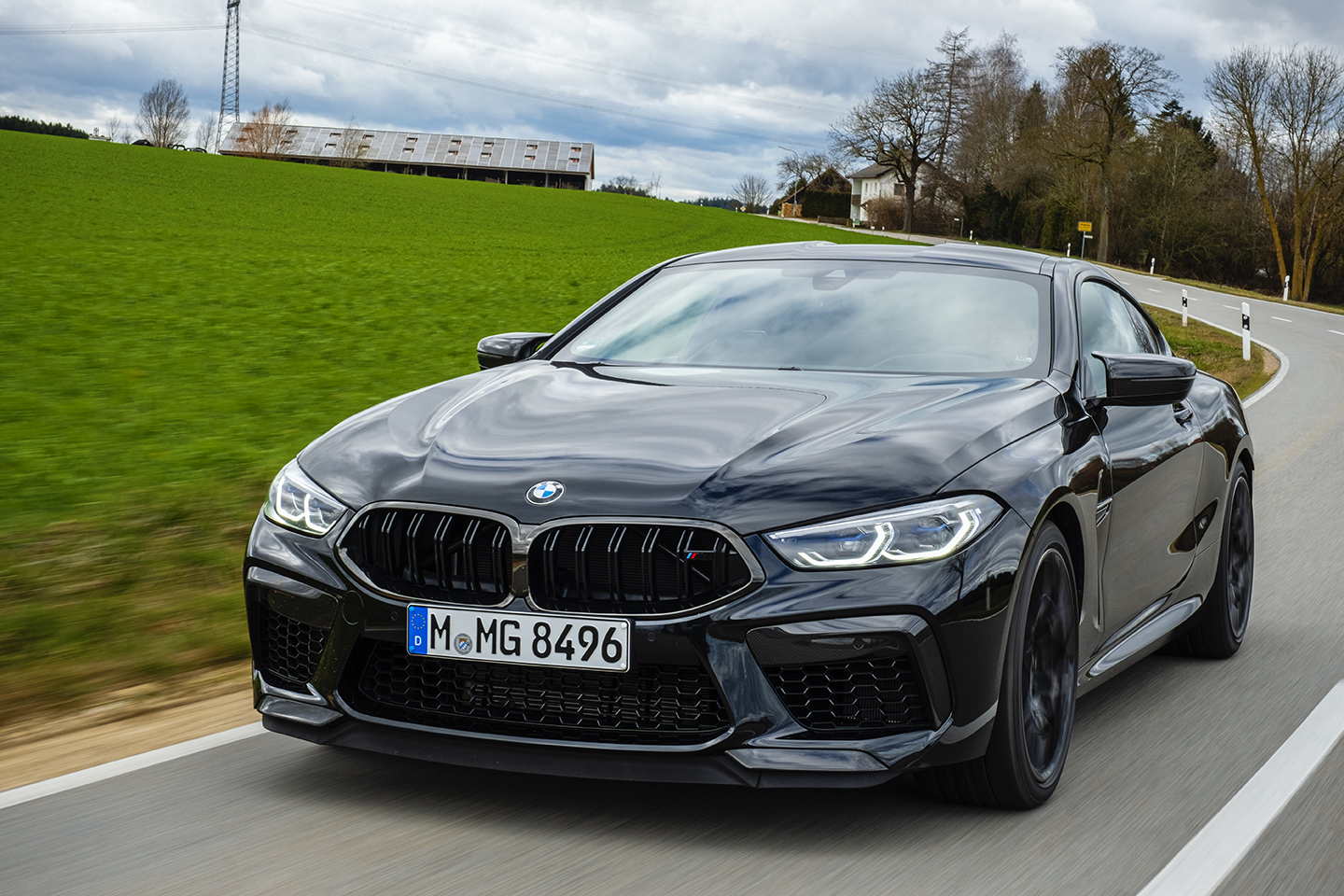 BMW M8 Competition Test Drive 56