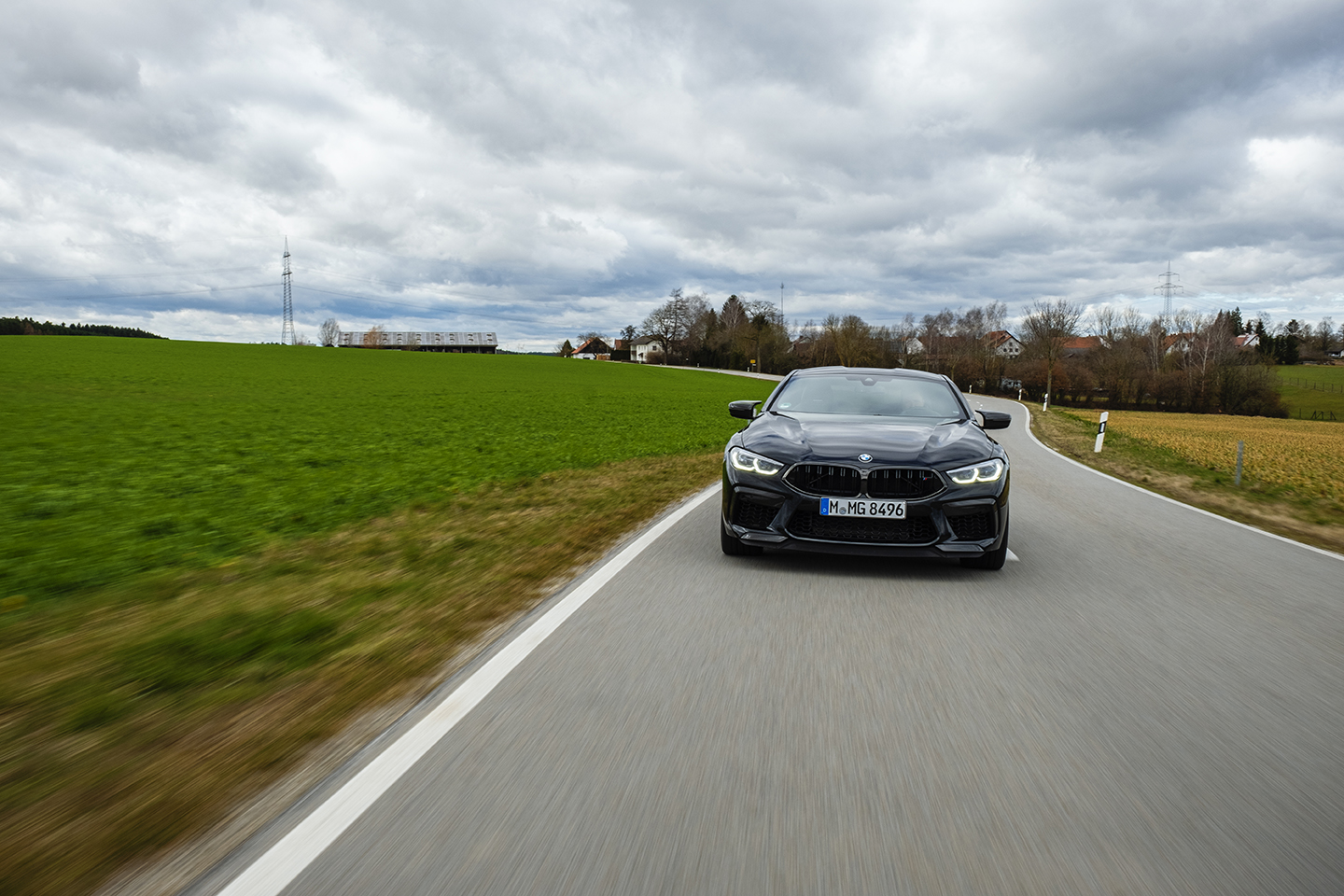 BMW M8 Competition Test Drive 57
