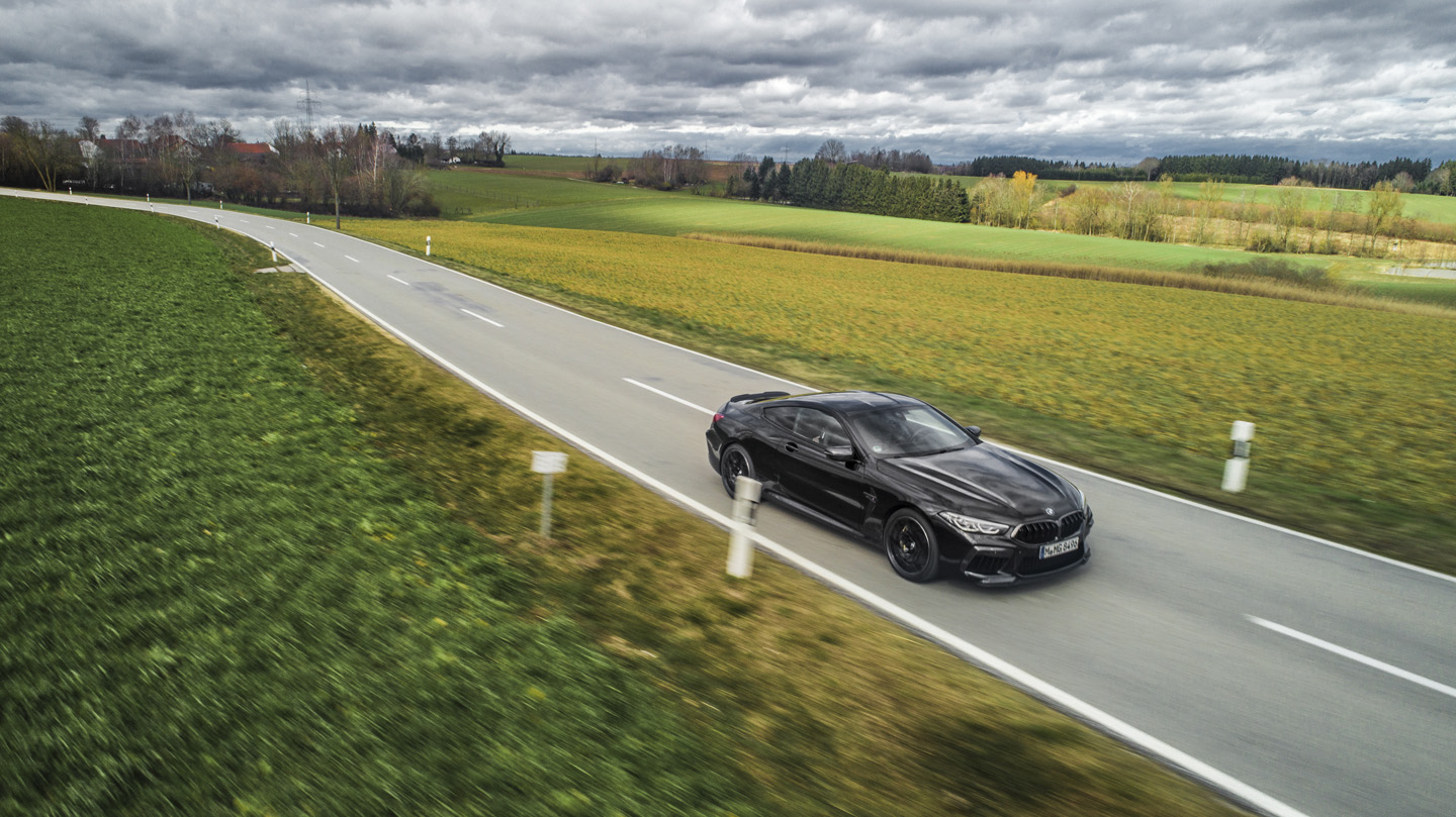BMW M8 Competition Test Drive 6