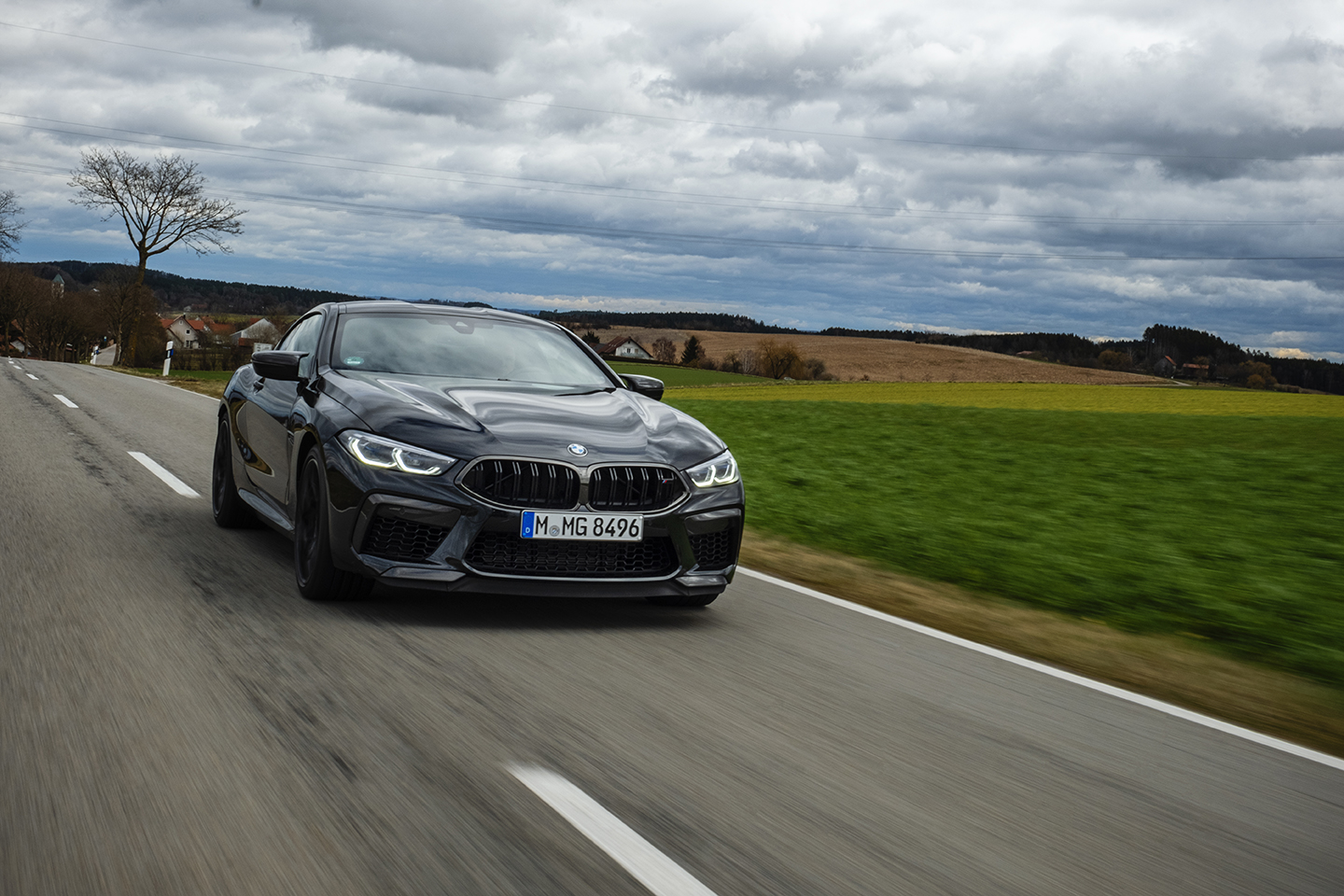 BMW M8 Competition Test Drive 60