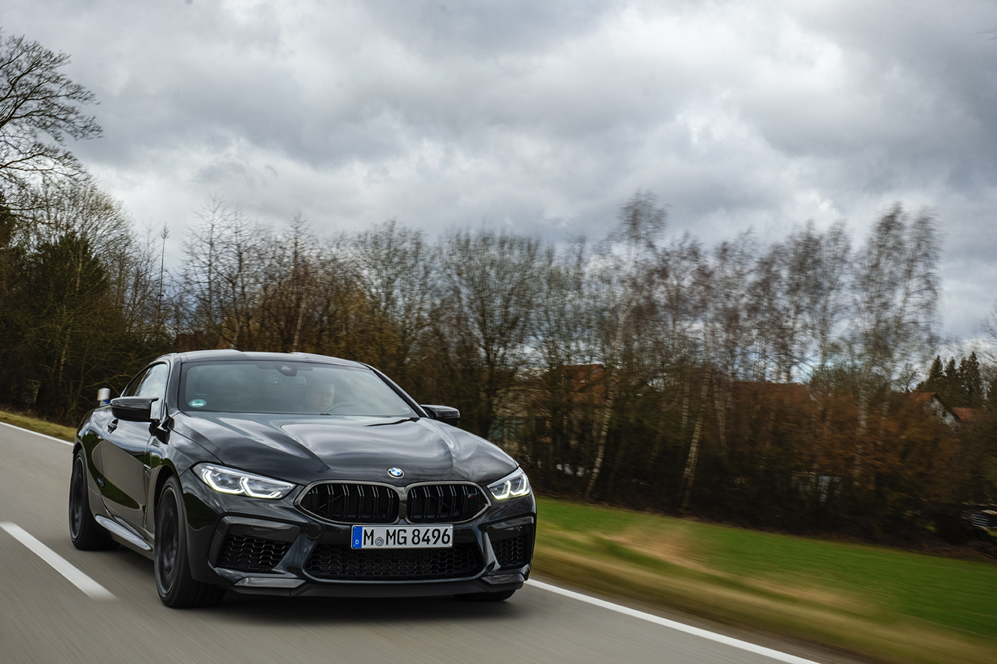 BMW M8 Competition Test Drive 61