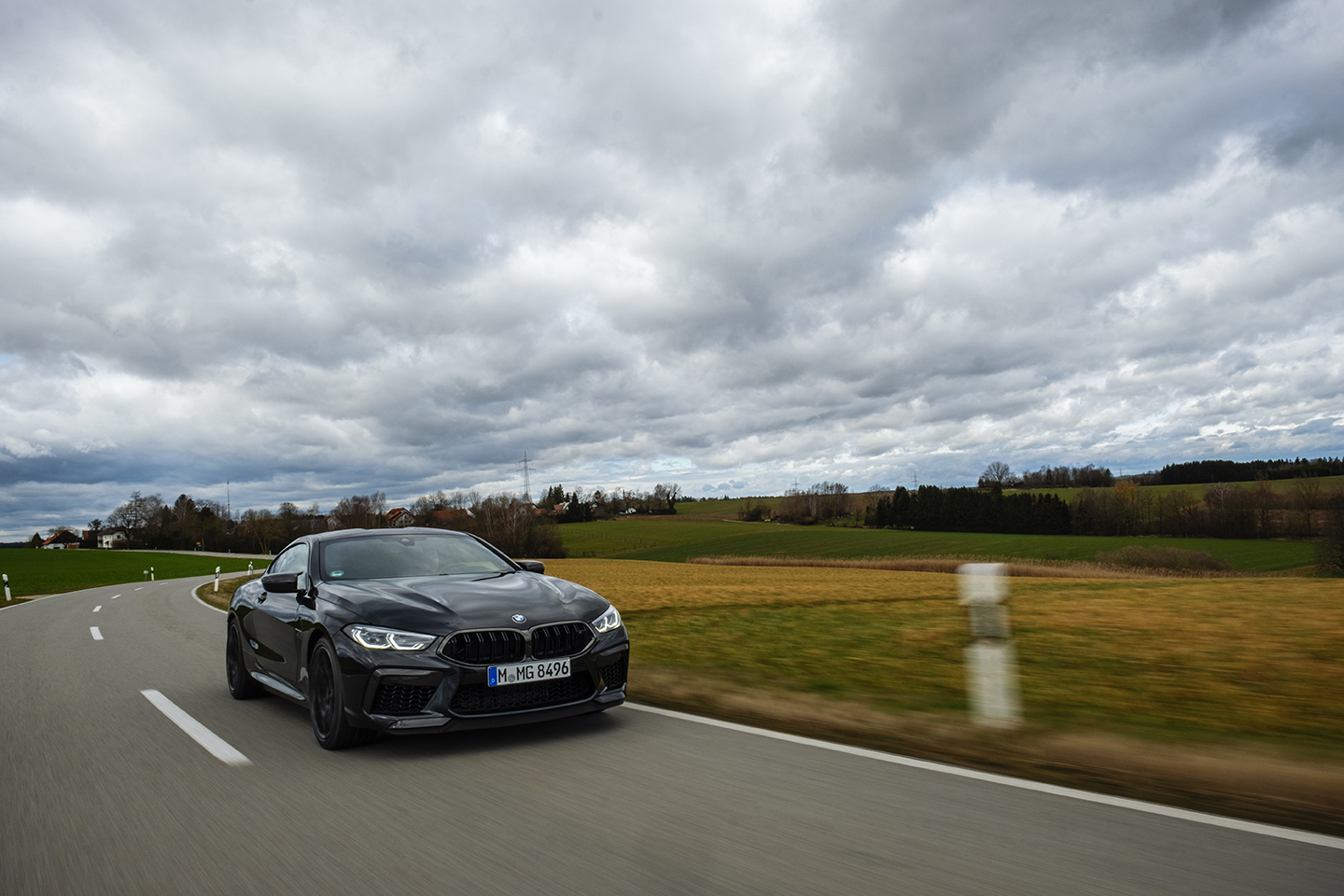 BMW M8 Competition Test Drive 62