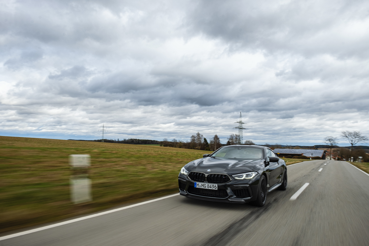 BMW M8 Competition Test Drive 63