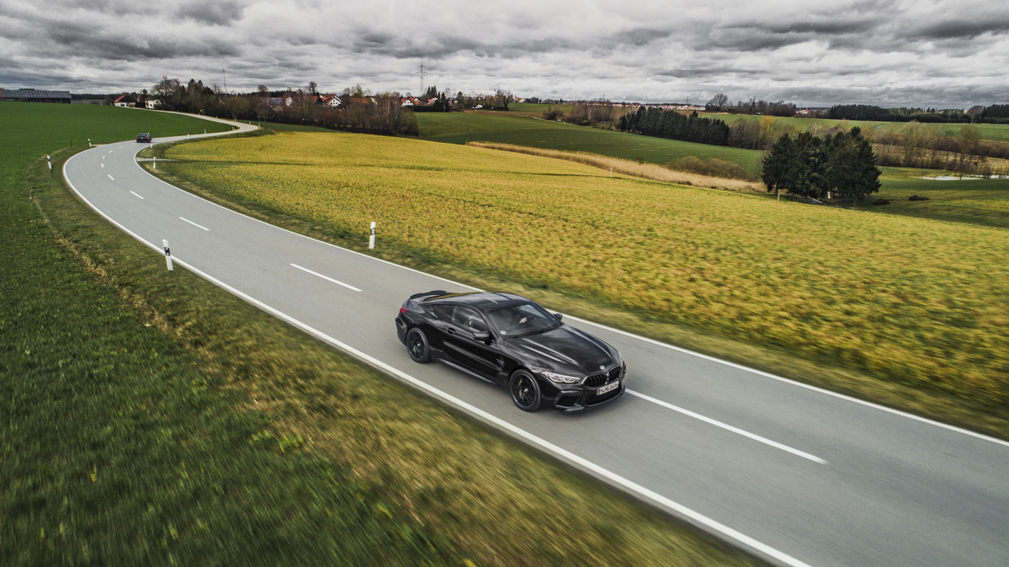BMW M8 Competition Test Drive 7