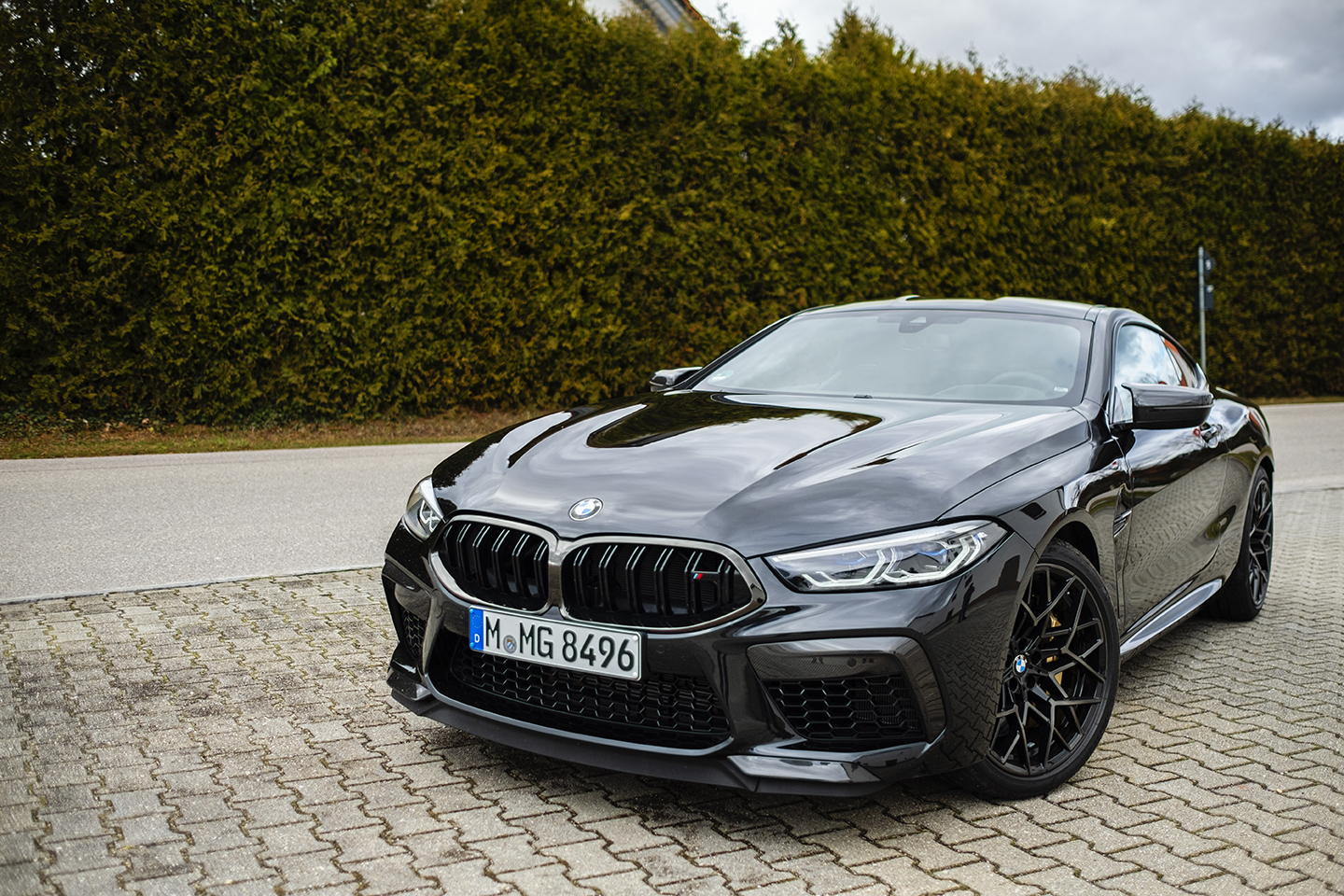 BMW M8 Competition Test Drive 72