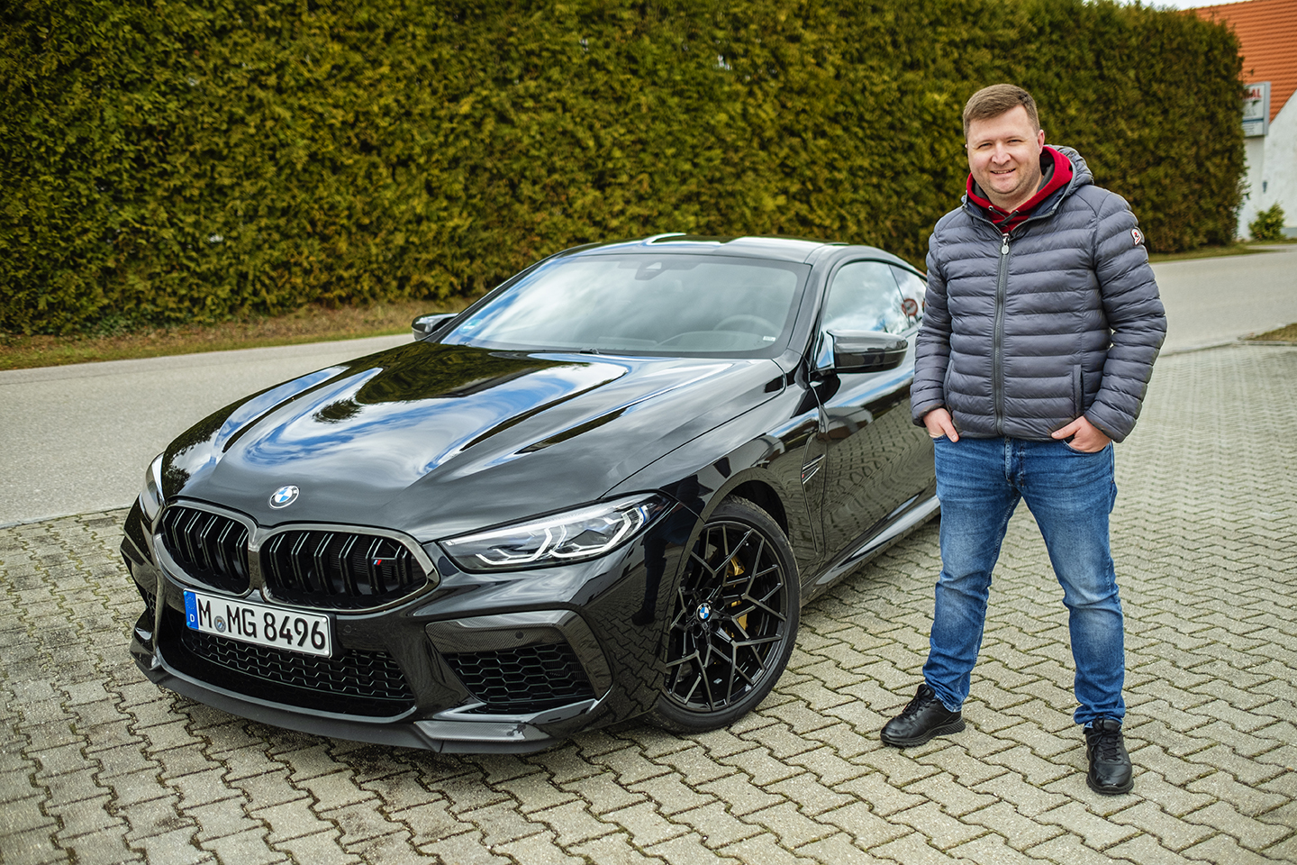 BMW M8 Competition Test Drive 75