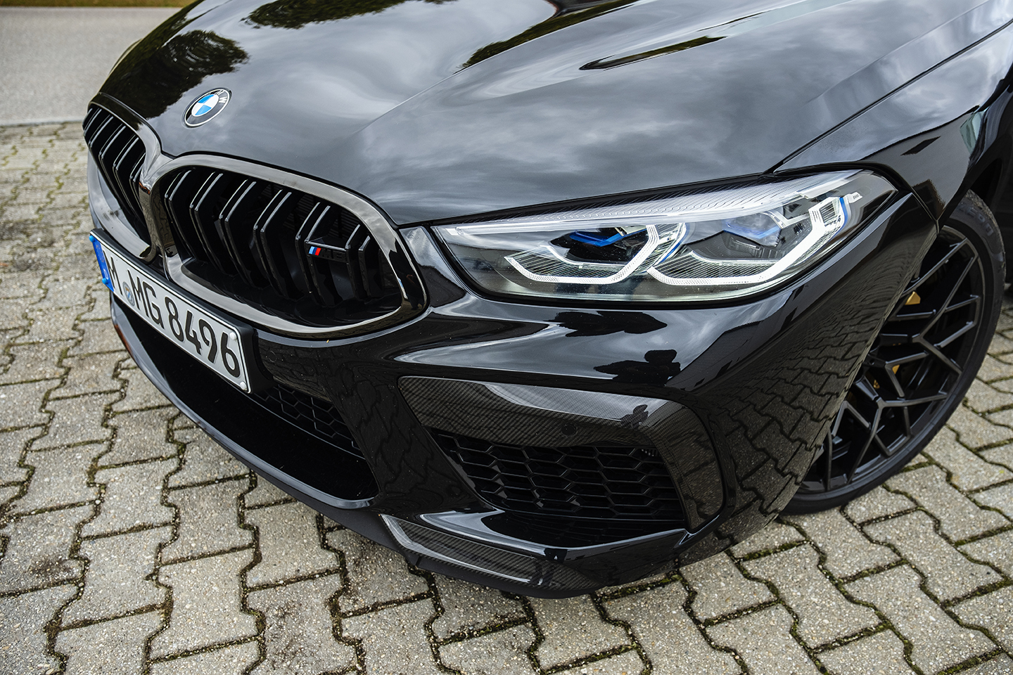 BMW M8 Competition Test Drive 78