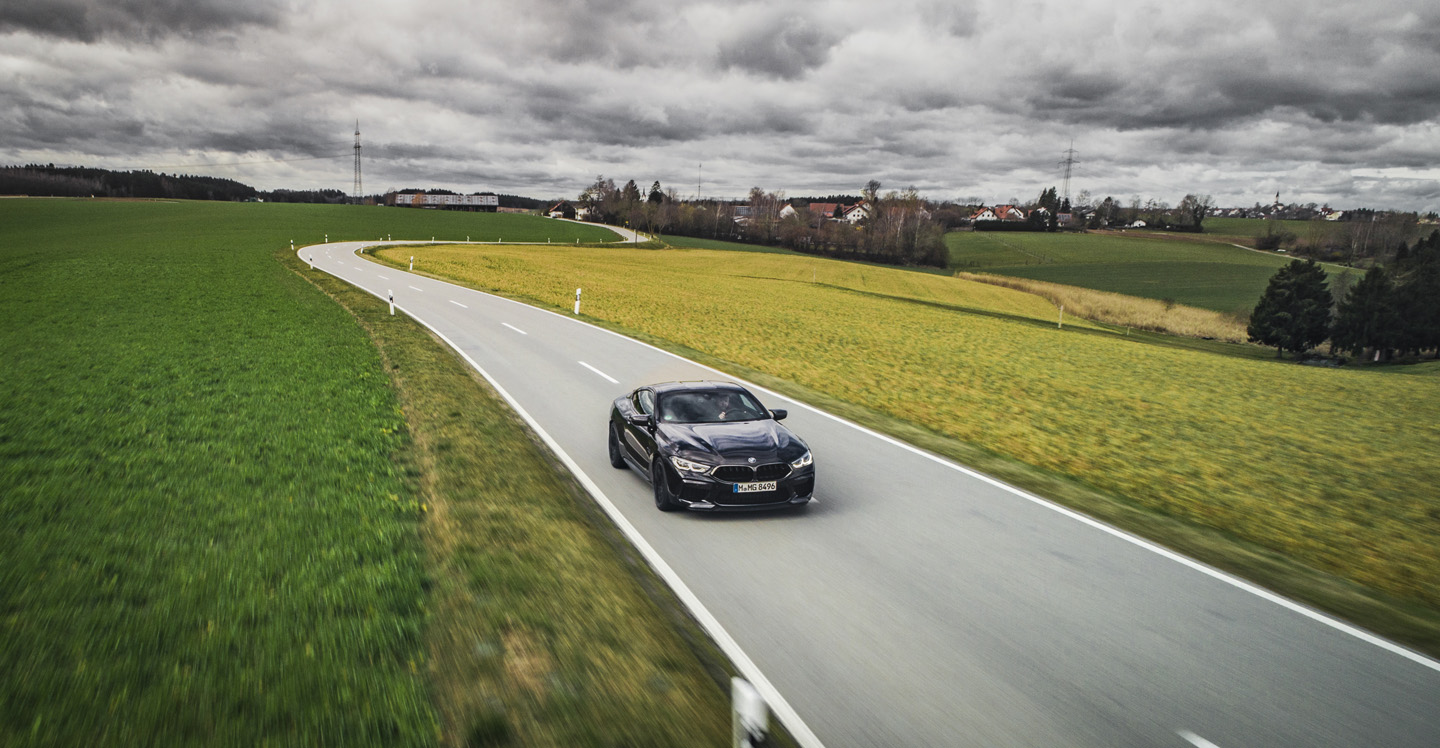 BMW M8 Competition Test Drive 8