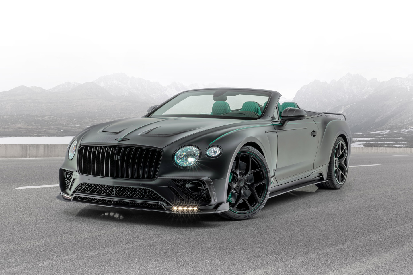 Mansory Bentley Continental GT V8 Convertible 2020 0