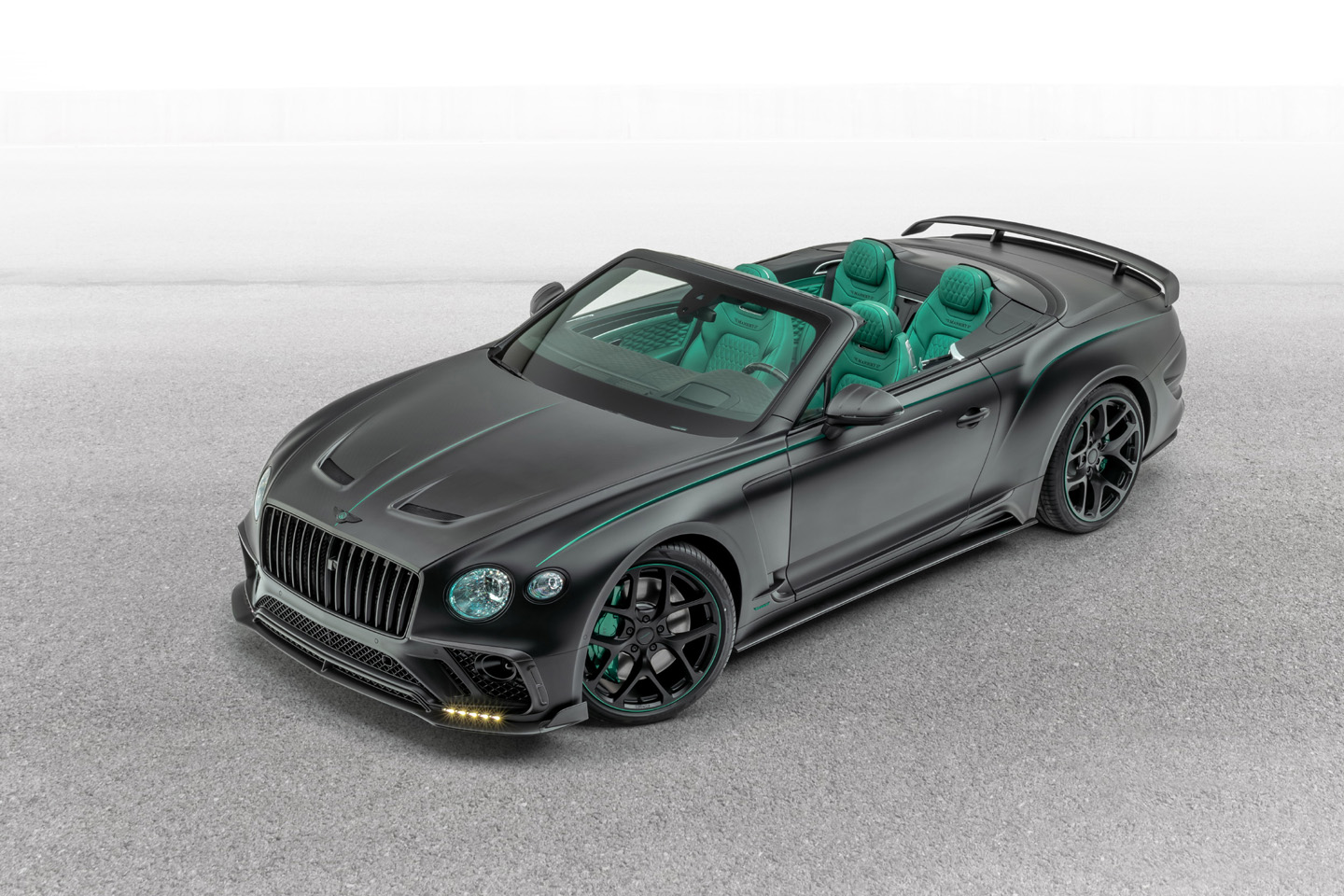 Mansory Bentley Continental GT V8 Convertible 2020 1