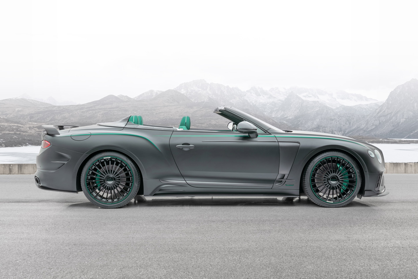 Mansory Bentley Continental GT V8 Convertible 2020 3