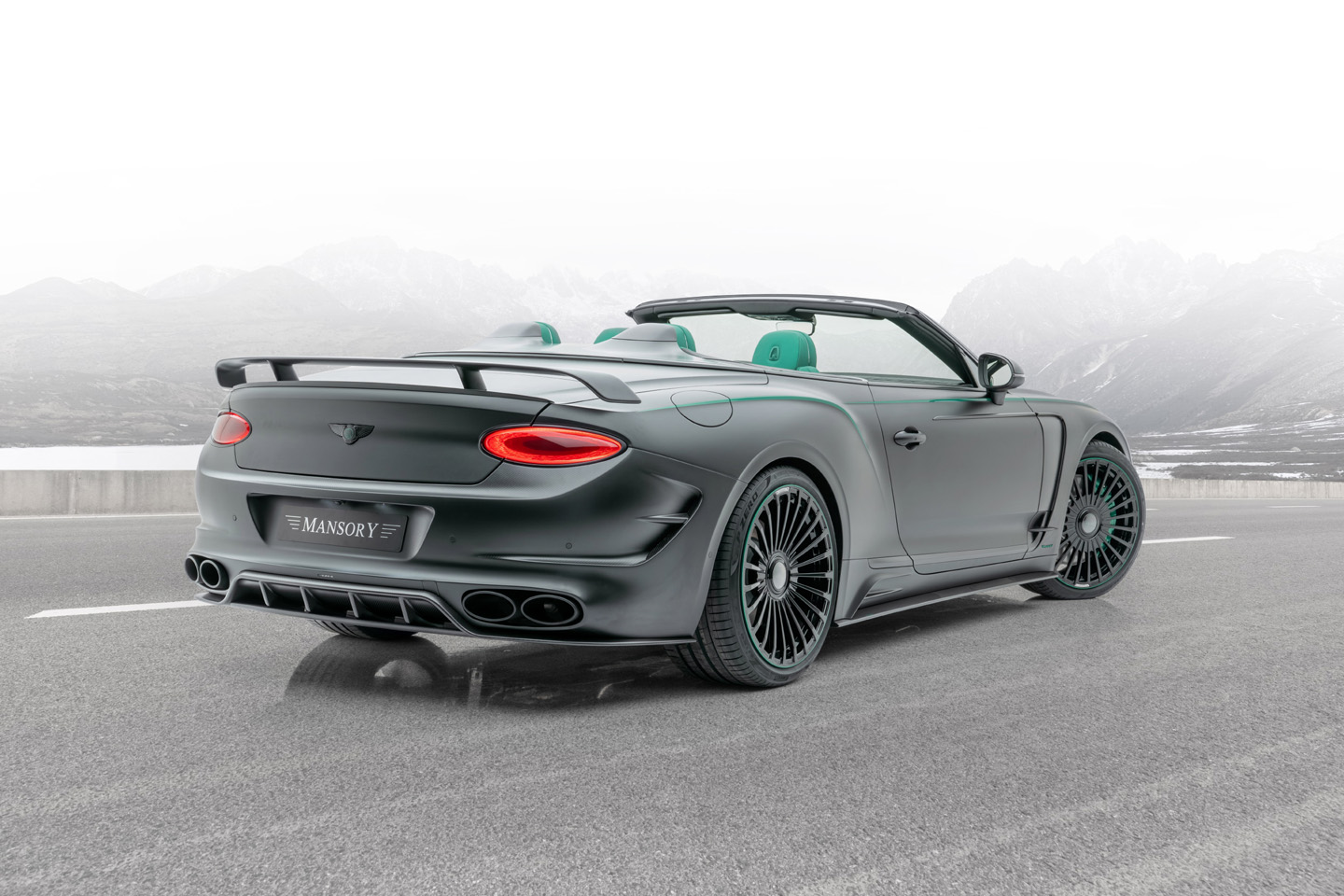 Mansory Bentley Continental GT V8 Convertible 2020 4