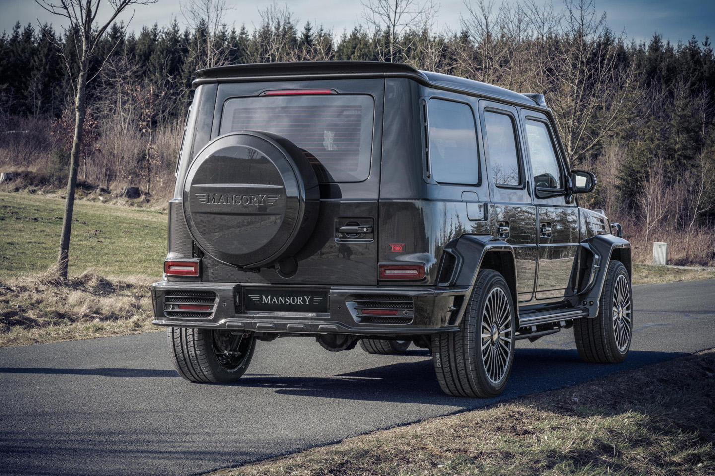 Mansory Mercedes Benz G 63 AMG Armored 2020 1