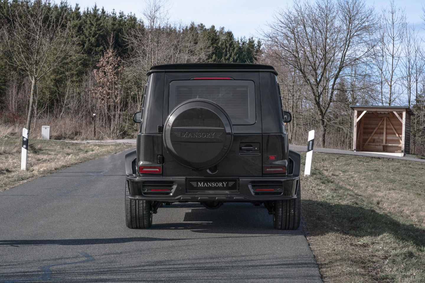 Mansory Mercedes Benz G 63 AMG Armored 2020 4