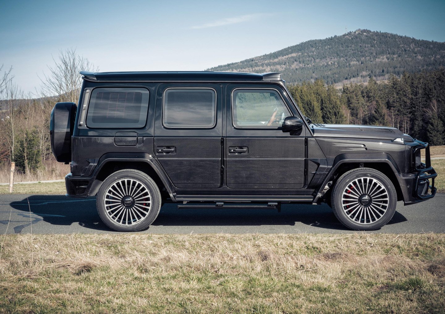 Mansory Mercedes Benz G 63 AMG Armored 2020 5