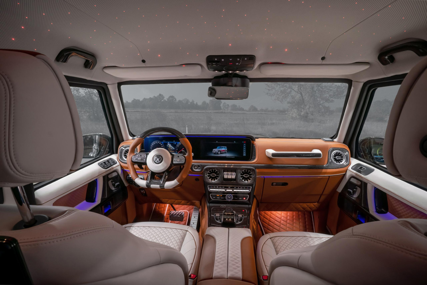 Mansory Mercedes Benz G 63 AMG Armored 2020 7