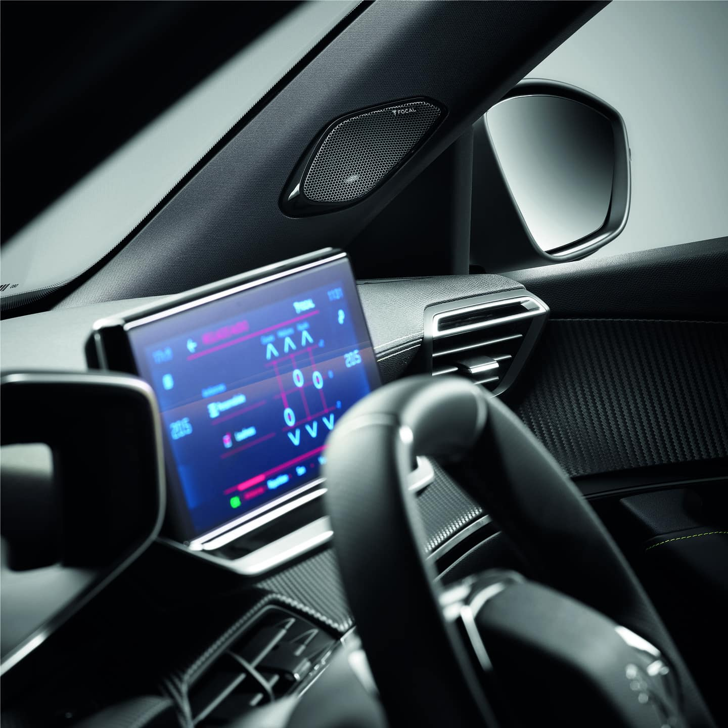Peugeot Focal Audio systems 10