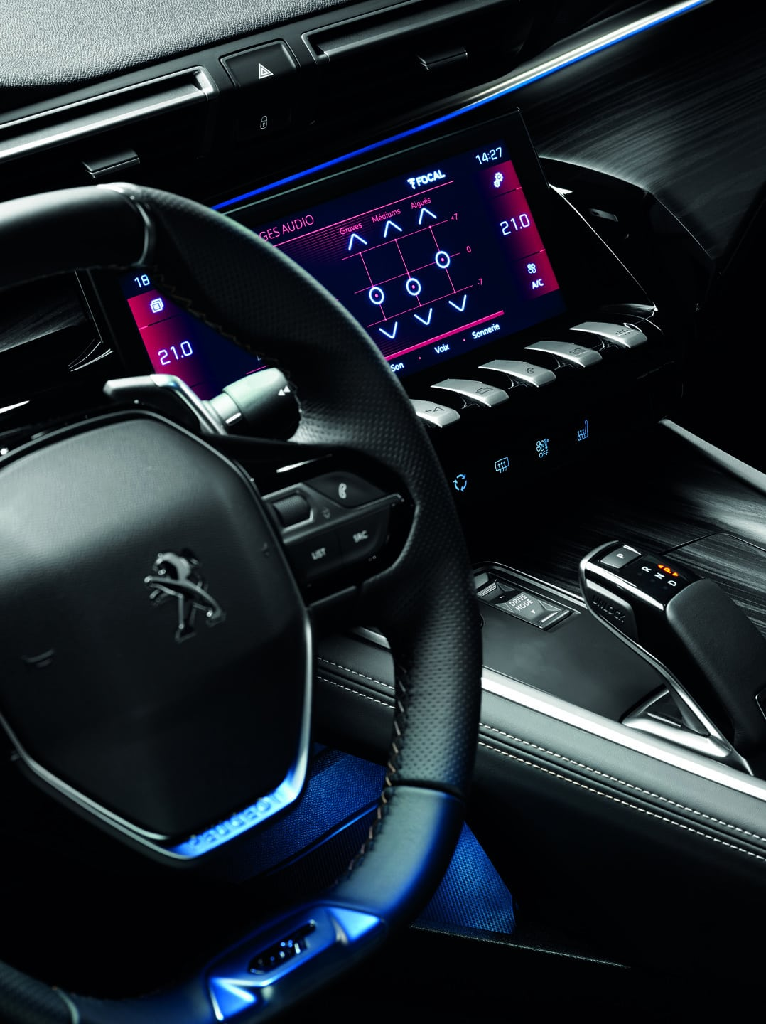 Peugeot Focal Audio systems 6
